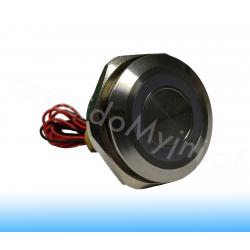 Przycisk Piezoelektryczny LED 30mm Niebieski