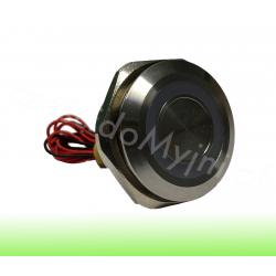Przycisk Piezoelektryczny LED 30mm Zielony