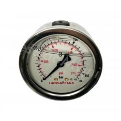 Manometr Glicerynowy 0-160 BAR Tylny M1/4''