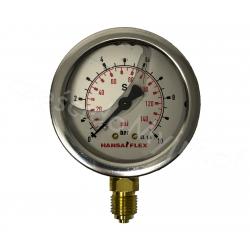 Manometr Glicerynowy 0-10 BAR Dolny M1/4''